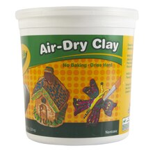 Crayola Air-Dry Clay, White