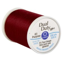 Coats & Clark Dual Duty XP General Purpose Thread, Berry Red