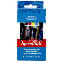 Speedball Basic Block Printing Ink Set