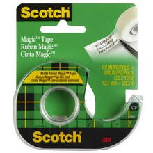 Scotch Magic Tape, 1/2""