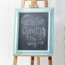 Framed Chalkboard Sign