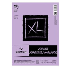Canson XL Marker Pad, Bright White