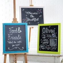 Canvas Panel Chalkboard Sign