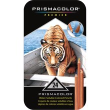 Prismacolor Premier Watercolor Pencil Set, 24 Count