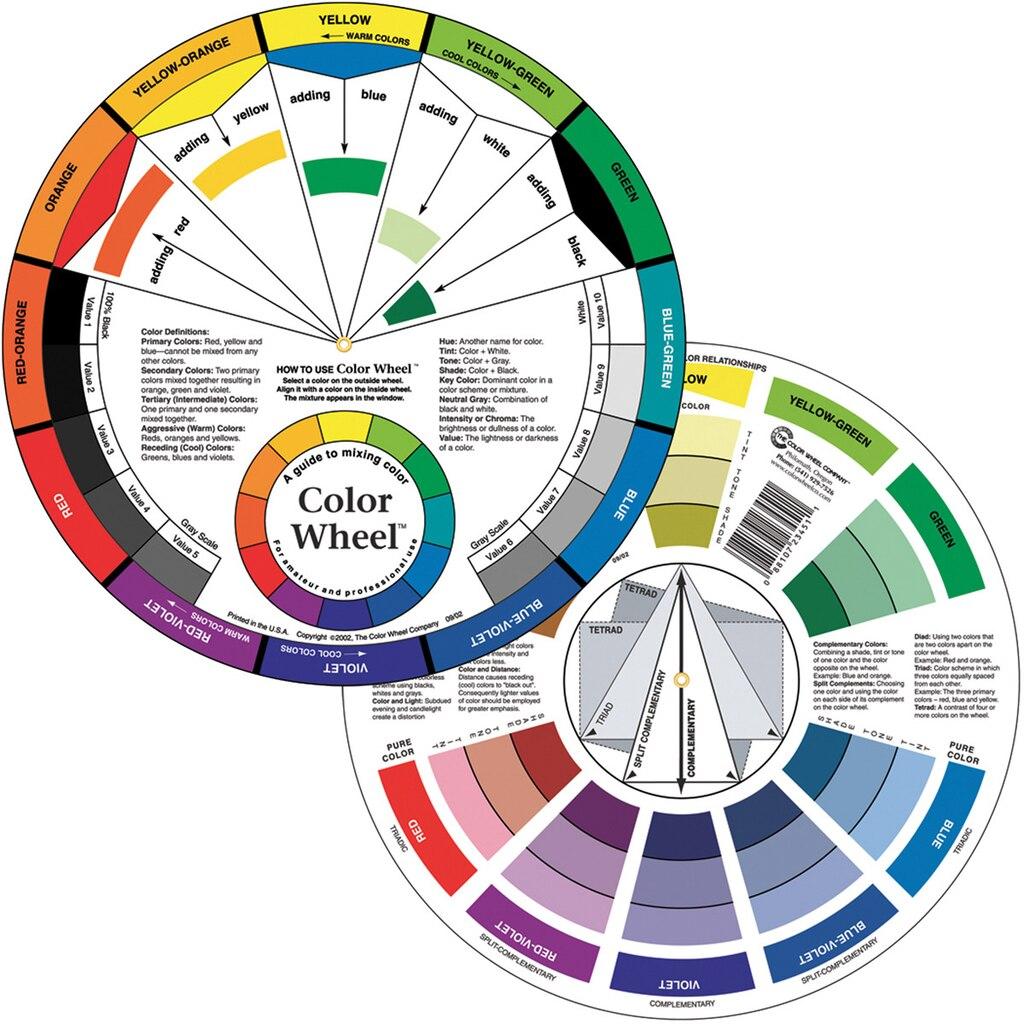 Color Wheel - Color wheel color schemes