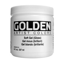 Golden Artist Colors Soft Gel, Gloss