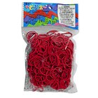 Rainbow Loom Refill Bands, Red