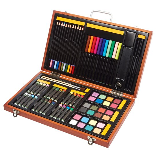 Creatology art set 82 pieces for Walmart arts and crafts paint