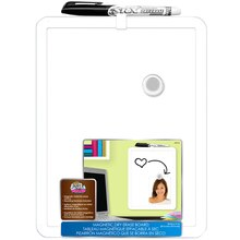 The Board Dude's White Framed Magnetic Dry Erase Board