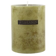 "Ashland Basic Pillar Candle, Gardenia, 3"" x 4"""