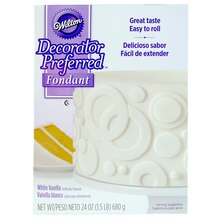 Wilton Decorator Preferred Fondant, White Vanilla