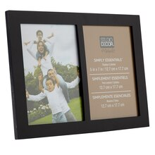 Studio Décor Simply Essentials 2-Opening Collage Frame