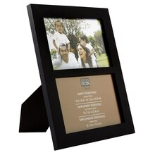 "Studio Décor Simply Essentials 2-Opening Collage Frame, 4"" x 6"""