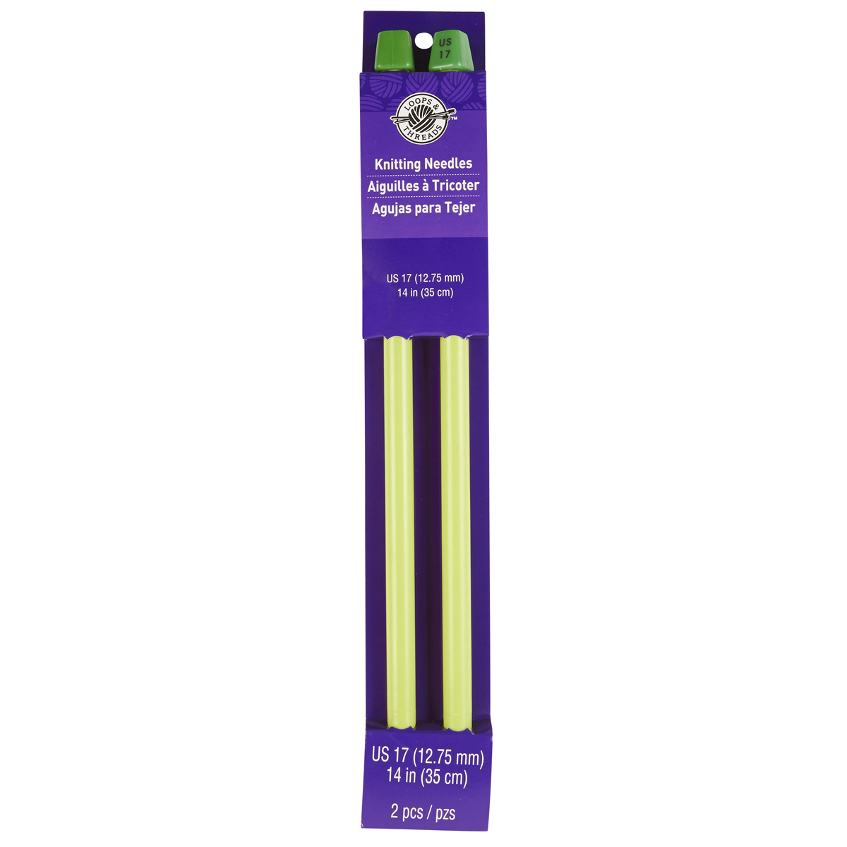 Knitting Organizer Michaels : Quot straight plastic knitting needles by loops threads