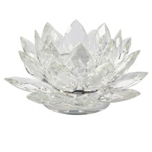 Ashland Pillar Lotus Candle Holder, 3 Tier