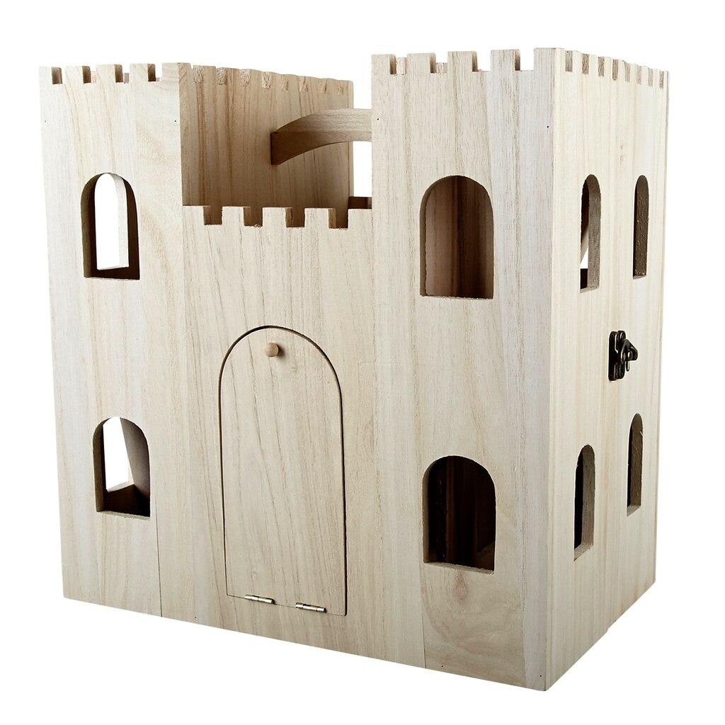 Artminds Wood Castle Dollhouse
