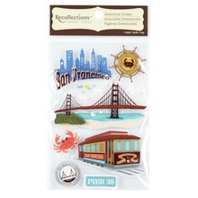 Recollections Signature Dimensional Stickers San Francisco
