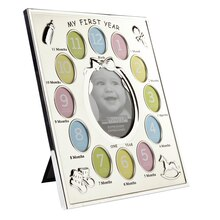 "Studio Décor Expressions ""My First Year"" Baby Collage Frame"