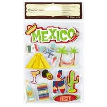 Recollections Signature Dimensional Stickers Mexico