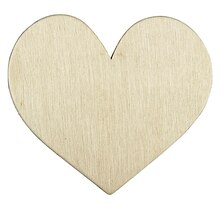ArtMinds Wood Simple Shape, Heart