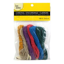 Bead Landing Colored Hemp Cord with Shells, Value Pack
