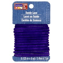 ArtMinds Suede Lace Card, Purple