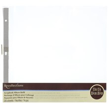 Scrapbook Album Refill Value Pack By Recollections