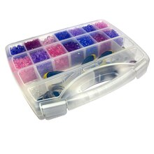 "Bead Landing Bead Storage Box With Handle, 14.8"" x 12.2"" x 2.3"""