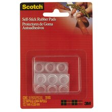 Scotch Self-Stick Floor Care Pads