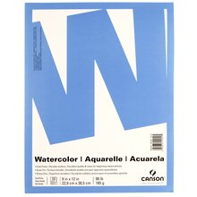 Canson Value Watercolor Pad