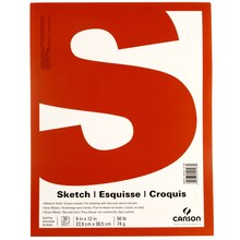 Canson Value Sketch Pad
