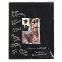 "Studio Décor Pre-Cut Signature Mat, Black 5"" x 7"""
