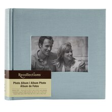 Recollections Blue Silky Photo Album