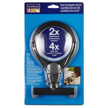 ArtMinds Hands Free Magnifier with LED