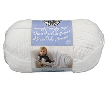 Loops & Threads Snuggly Wuggly Big! Yarn, White