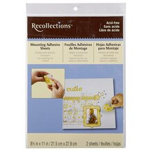 Recollections Mounting Adhesive Sheets