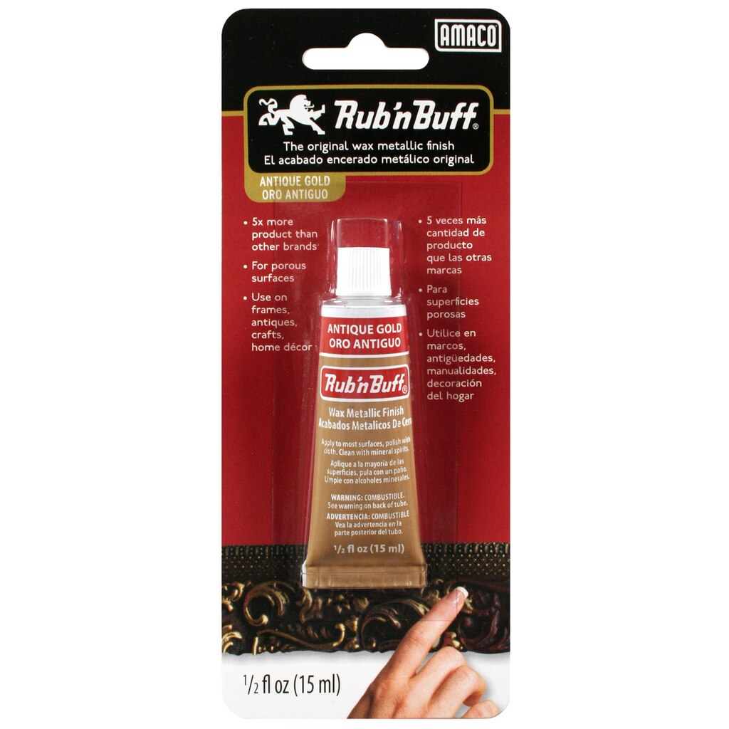 Rub 39 n buff wax metallic finish for Weekly ad for michaels craft store