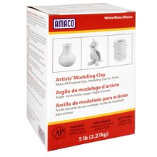 AMACO Artists' Modeling Clay, White