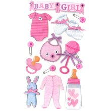 Jolee's Boutique Baby Girl Stickers