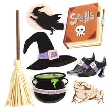 Jolee's Boutique Witch Stickers