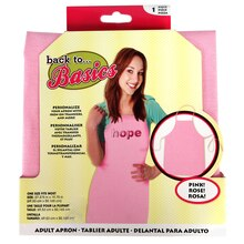 Back to Basics Adult Apron, Breast Cancer Awareness
