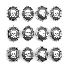 Jolee's Boutique Parcel Skull Cameo Stickers