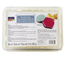 ArtMinds Soap Making, Clear Glycerin Soap