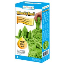 Creatology Kinetic Sand, Neon Green