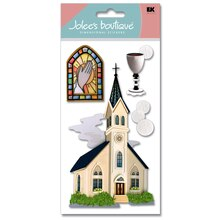 Jolee's Boutique Catholic Church Stickers
