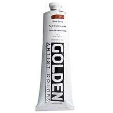 Golden Heavy Body Acrylic, 5oz. Burnt Sienna