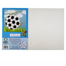 "Creatology Construction Paper, 12"" x 18"" White"