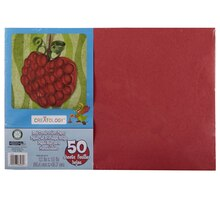 "Creatology Construction Paper, 12"" x 18"" Red"