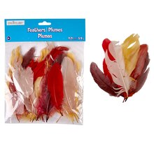 Creatology Feathers, Fall Mix