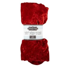 Crafty Cuts Crushed Velvet, Red